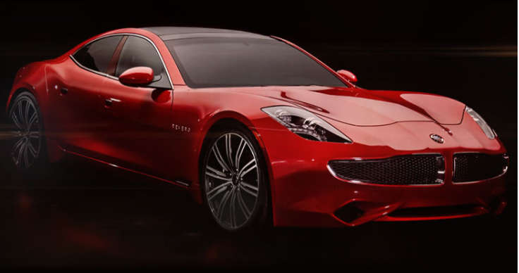 Karma Revero revealed, along with solar roof that powers the car