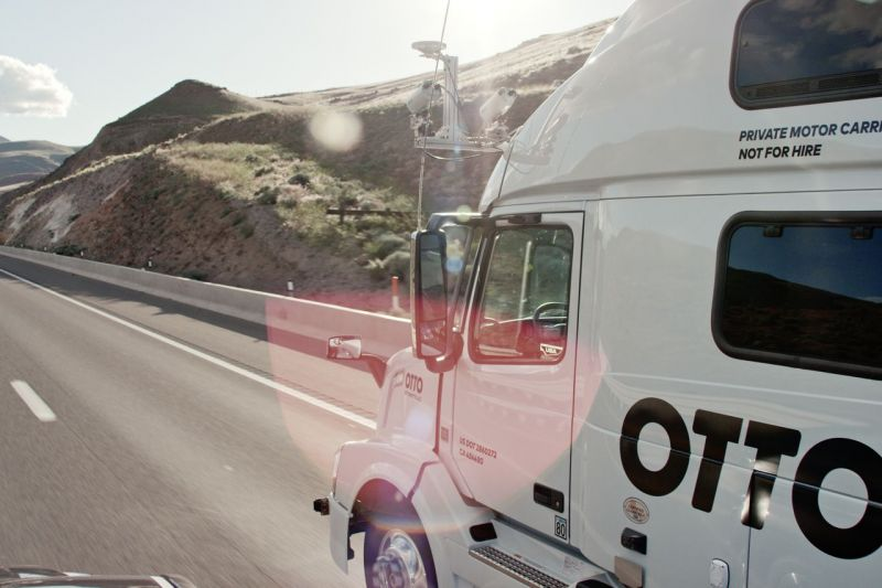 Uber acquires autonomous truck startup Otto, co-founder to lead self-driving efforts