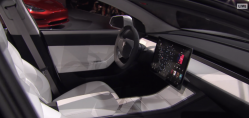 Tesla Model 3: What will the spaceship-like steering wheel of the Model 3 look like?