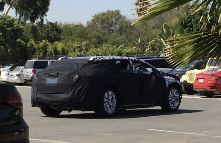 This could be Faraday Future's answer to the Tesla Model X