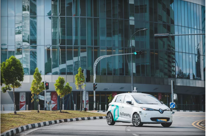 World's first self-driving taxi trial begins in Singapore