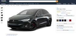 Tesla is now on Amazon