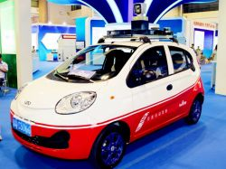 Here's Baidu's new all-electric self-driving test car