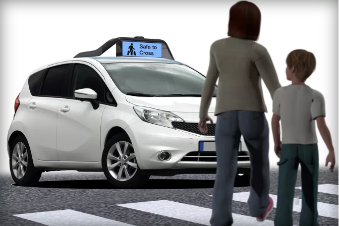 Drive.ai wants to help autonomous cars talk with the people around them