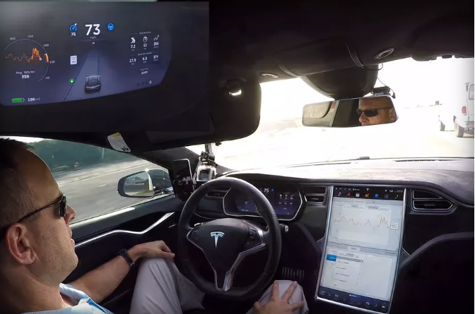 Elon Musk reveals a 'major' Tesla Autopilot update is coming soon