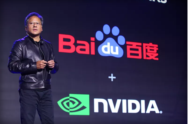 Nvidia partners with Baidu to build a self-driving car AI