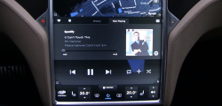 Tesla to soon release Spotify app integration in its vehicles in the US