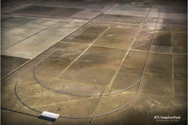 Hyperloop track construction in California is delayed