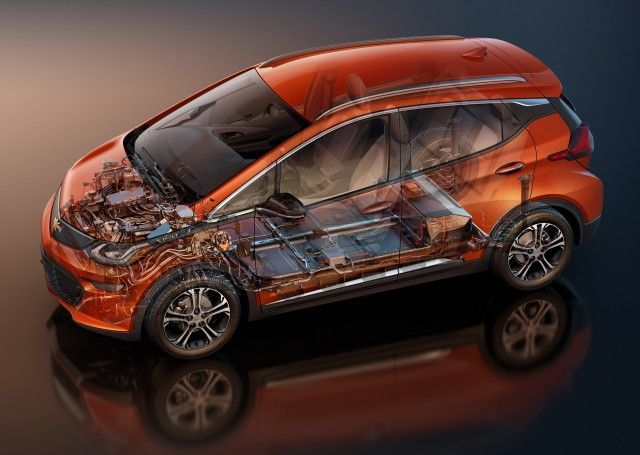 2017 Chevrolet Bolt EV Chevy Bolt EV not on shared architecture, but platform name secret, GM says
