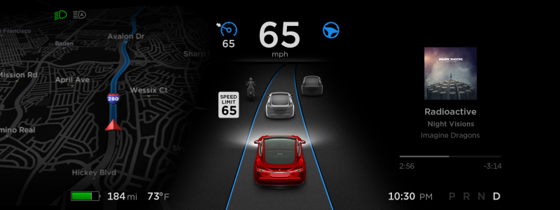 Tesla is aiming for a wide release of v8.0 software update on September 21