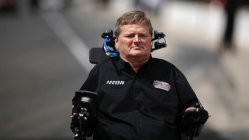 Nevada issues nation's first semi-autonomous driver's license to Sam Schmidt