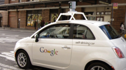 Google's self-driving car crash sent its test driver to the hospital