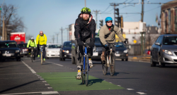 How Will Self-Driving Cars Cope with Bikes and Limited Road Space?