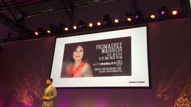 The Road Warrior - NEXTEV CEO Speaks at AutoMobilityLA