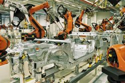 Car Industry Leads Adoption of Industrial Robots, More Jobs for Humans
