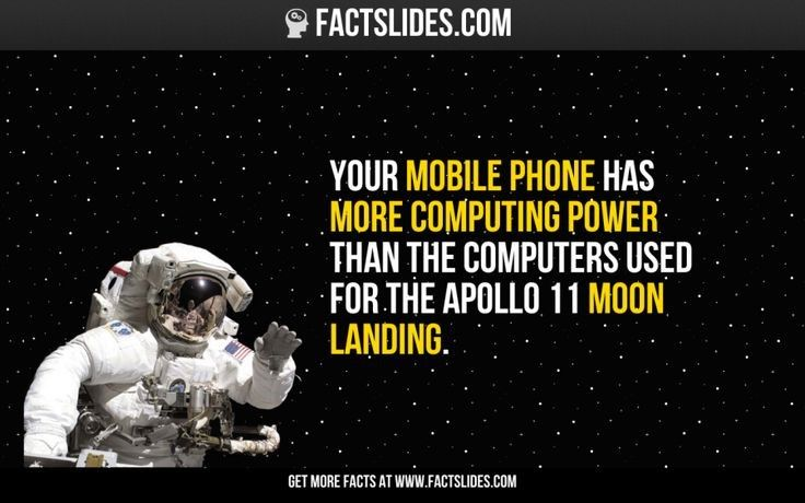 Apollo Lunar Missions' Computing Power vs. Your iPhone ​