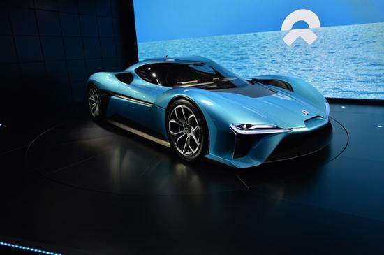 """NextEV launches new brand """"NIO"""" and world's fastest electric car"""