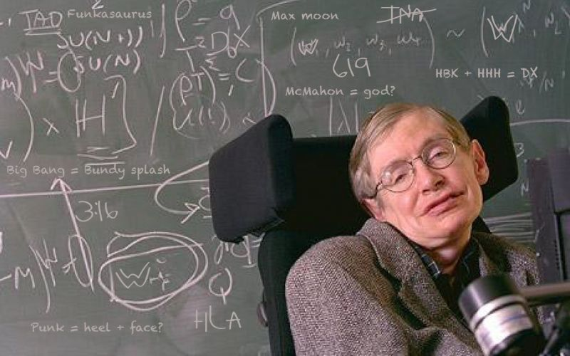 Stephen Hawking, Robotics and Our