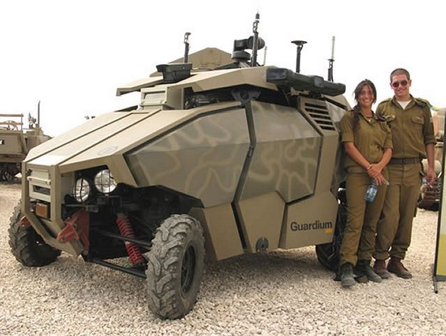 The Israeli Army's new autonomous vehicle – a look at the battlefield of tomorrow