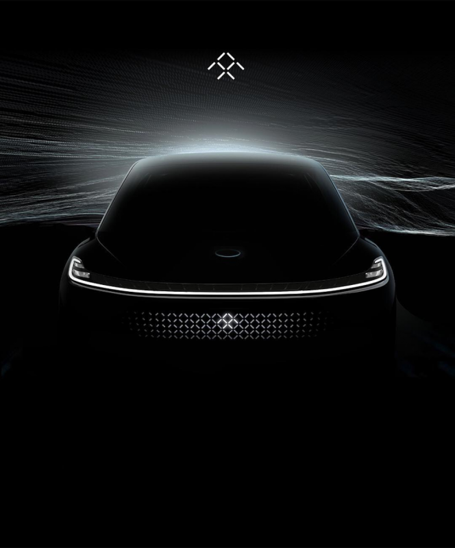 Faraday Future keeps teasing with its mystery new car