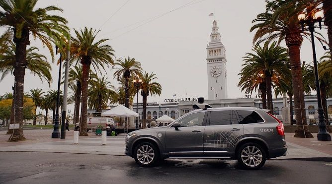 Uber Pulls Self-Driving Cars from San Francisco Streets
