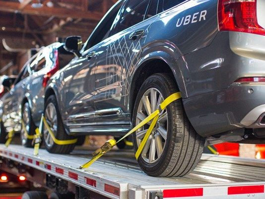 After getting turned down by California, Uber heads to Arizona to test driverless cars