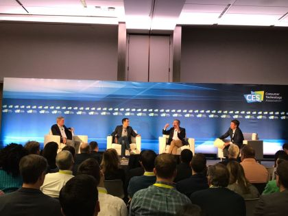 Top Leaders in Auto Tech Sector Discuss the Future of Mobility at CES 2017