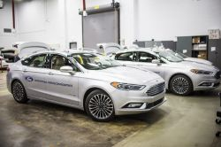 Ford unveils new hybrid fusion sedan in time for CES 2017