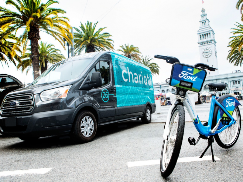 Ford Partners With Chariot on Crowd-Sourced Shuttle