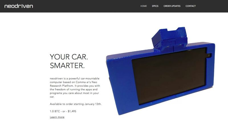 Neodriven Releases Mirror Replacement That Gives Your Car Autonomous Capabilities