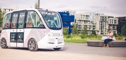 Las Vegas Pilots Autonomous Shuttles Provided by French Startup Navya