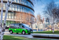 Ford Will Launch 12-month Pilot Program in London With its Hybrid Van