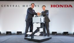 Honda, GM Team Up To Expand Their Hydrogen Fuel-Cell Technology