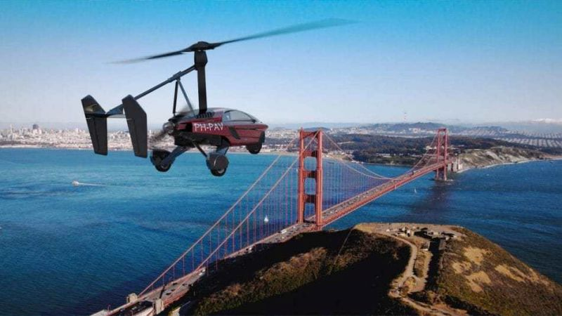 The World's First Commercial Flying Car Ready for Order