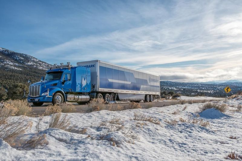 Embark Looks to Tractor-Trailers as the Next Self-Driving Vehicles