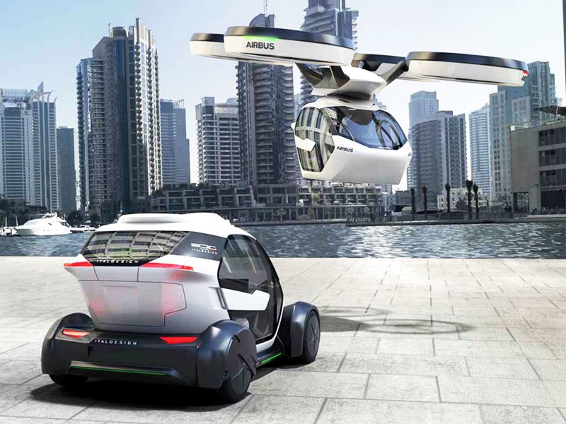 Airbus reveals blueprint of its popup flying car futurecar airbus reveals blueprint of its popup flying car malvernweather Images