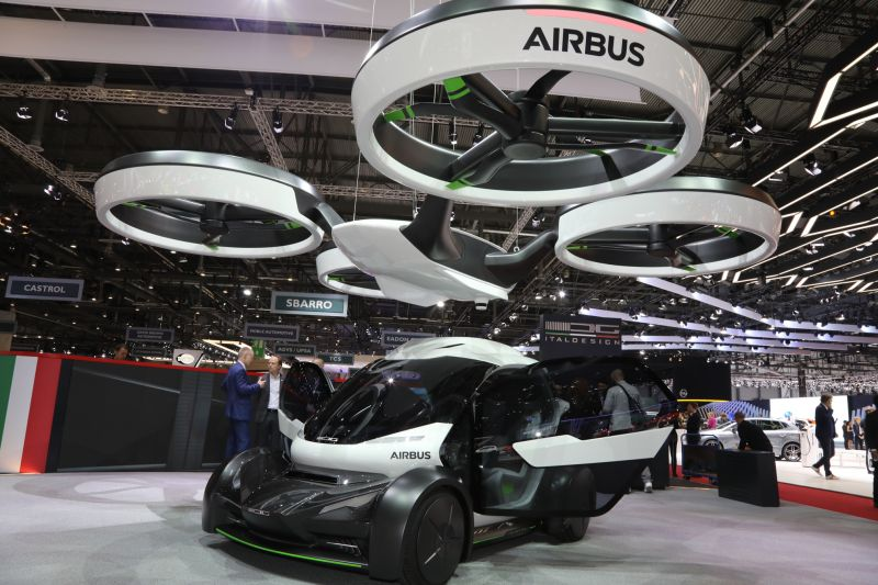 The Network Consists Of Both Self Driving Cars And Monstrous Drones That Carry People To Their Destination