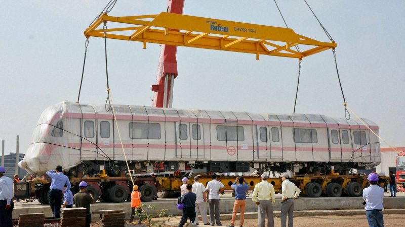 India Set to Deploy Driverless Trains Along Busy Metro Routes