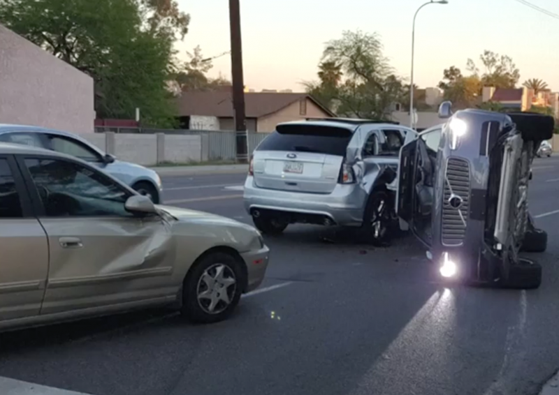 Uber Suspends, Restarts Self-Driving Tests After Accident in Arizona