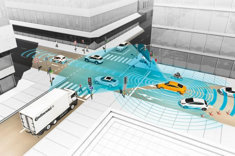 All-range, Full-stack 4D Radar Could Improve Safety in Driverless Cars