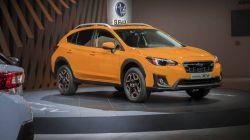Subaru shows off the new 2018 Crosstrek at the New York Auto Show