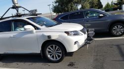 Apple's self-driving test vehicle spotted in Silicon Valley