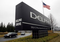 Delphi to spin off its powertrain business and focuses on electronic market