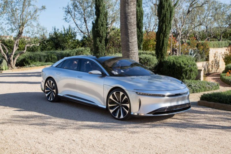 Silicon Valley Automaker Lucid Motors Shows off the Ultra-luxurious Air