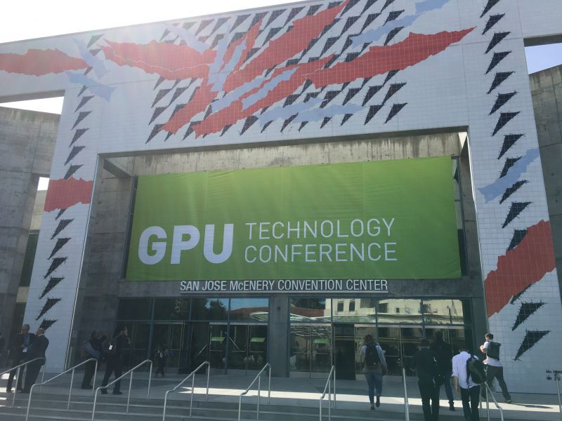 See a few cool things at the GPU Technology Convention