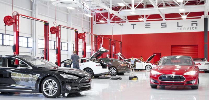 Keeping Things in the Family: Tesla Plans to Open Body Repair Shops