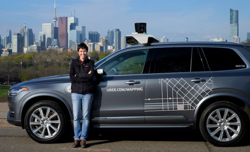 Uber Aims to Open Research Hub for Autonomous Car Tech in Toronto