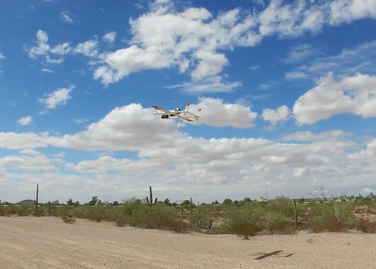 Volans-i's delivery drone can fly 100 miles, carry heavy-lifting