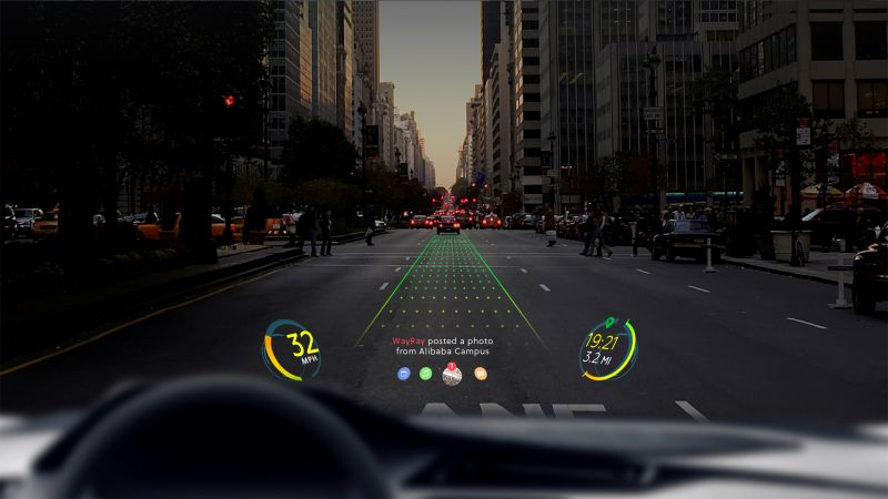 WayRay Creates Holographic Navigation: Alibaba Invests $18 Million