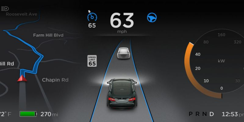 Elon Musk announces updated Tesla Autopilot available in June